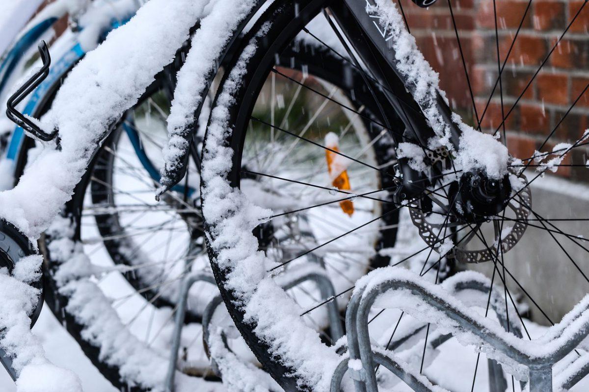 Fahrrad einwintern