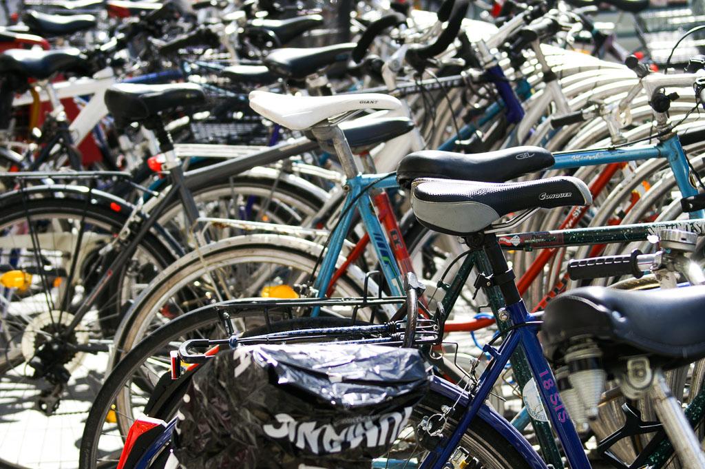 Fahrrad Abstellplatz