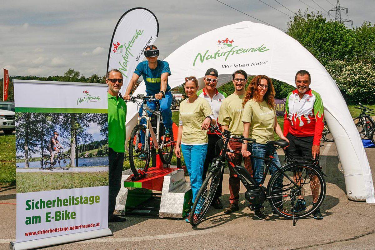E-Bike Sicherheitstraining für Anfänger